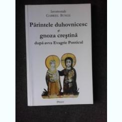 Parintele duhovnicesc si gnoza crestina dupa avva Evagrie Ponticul - Ieromonah Gabriel Bunge