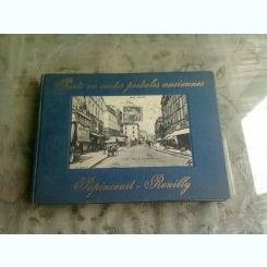 PARIS EN CARTES POSTALES ANCIENNES, POPINCOURT, REUILLY  (ALBUM, TEXT IN LIMBA FRANCEZA)