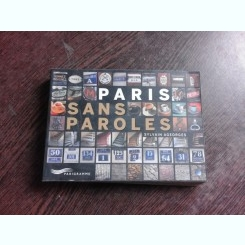 PARIS SANS PAROLES, CARTE FOTOGRAFIE
