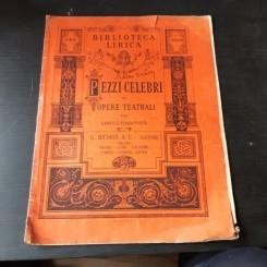 PEZZI CELEBRIDI OPERE TEATRALI PER CANTO E PIANOFORTE, IL BARBIERI DI SIVIGLIA - G. ROSSINI