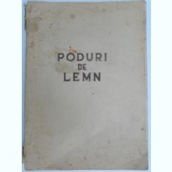 PODURI DE LEMN.,MANUAL PENTRU SCOLILE MEDII TEHNICE DE DRUMURI SI PODURI