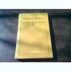POEME - LUCIAN BLAGA  (EDITIE BILINGVA)