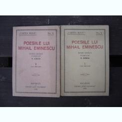 Poesiile lui Mihail Eminescu- N. Iorga
