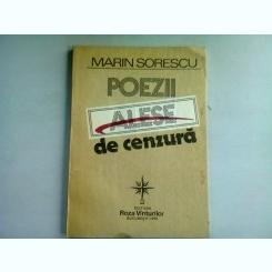 POEZII ALESE DE CENZURA - MARIN SORESCU