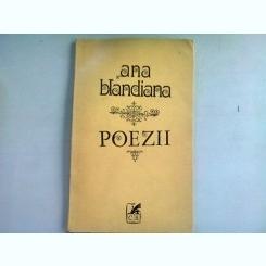 POEZII - ANA BLANDIANA  (CU DEDICATIE)
