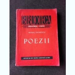 POEZII - MIHAIL EMINESCU