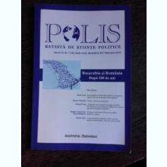 POLIS, REVISTA DE STIINTE POLITICE , VOLUM VI, NR.1(19), DECEMBRIE 2017-FEBRUARIE 2018
