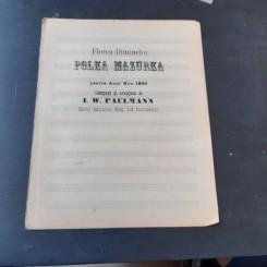 POLKA MARURKA - I.W. PAULMANN, PARTITURA