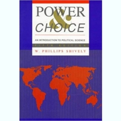POWER CHOICE - W. PHILLIPS SHIVELY  (CARTE IN LIMBA ENGLEZA)