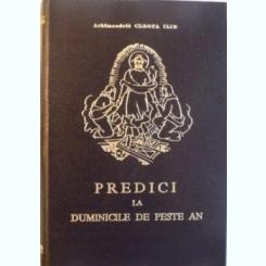 PREDICI LA DUMINICILE DE PESTE AN - CLEOPA ILIE