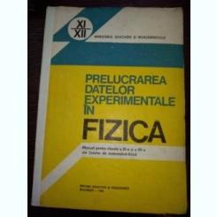 Prelucrarea Datelor Experimentale In Fizica - Traian Cretu, Vasile Falie