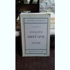 PRINCIPII DE DREPT CIVIL - TITUS DRAGOS