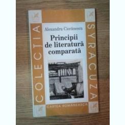 PRINCIPII DE LITERATURA COMPARATA de ALEXANDRU CIORANESCU , 1964