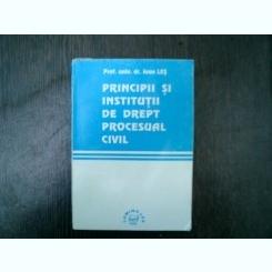 Principii si institutii de drept rpocesual civil - Ioan Les