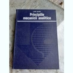PRINCIPIILE MECANICII ANALITICE - LAZAR DRAGOS