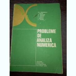 PROBLEME DE ANALIZA NUMERICA GHEORGHE MARINESCU