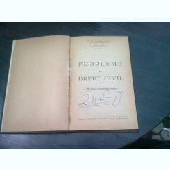 PROBLEME DE DREPT CIVIL - C.ST. TOMULESCU