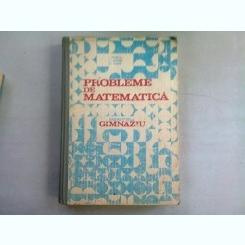 PROBLEME DE MATEMATICA PENTRU GIMNAZIU - I. PETRICA