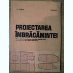 PROIECTAREA IMBRACAMINTEI DE GH. CIONTEA , M. RADULESCU , 1988,cartonata