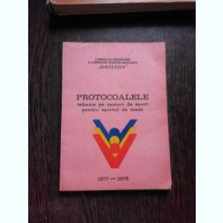 PROTOCOALELE TEHNICE PE RAMURI DE SPORT PENTRU SPOPRTUL DE MASA, 1977-1978