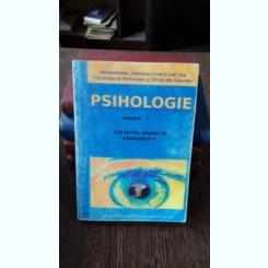 PSIHOLOGIE. CURSURILE ANULUI III. SEMESTRUL I. VOL.1 - CORNEL HAVARNEANU