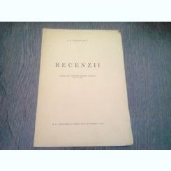 RECENZII - P.P. PANAITESCU