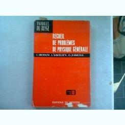 RECUEIL DE PROBLEMES DE PHYSIQUE GENERALE - I. IRODOV
