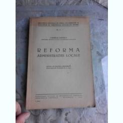 REFORMA ADMINISTRATIEI LOCALE - CORNELIU RUDESCU