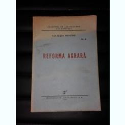 REFORMA AGRARA, COLECTIA MEMORII NR.2/1945