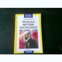 REGULILE METODEI SOCIOLOGICE -EMILE DURKHEIM