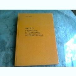 Relatii financiare si monetare internationale - Paul Bran