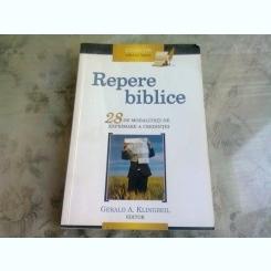 REPERE BIBLICE - GERALD A. KLINGBEIL