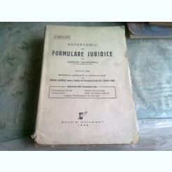 REPERTORIU DE FORMULARE JURIDICE - LASCAR DAVIDOGLU EDITIA A IV-A