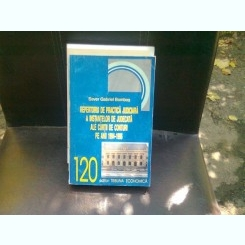 REPERTORIU DE PRACTICA JUDICIARA A INSTANTELOR DE JUDECATA ALE CURTII DE CONTURI PE ANII 1994-1996
