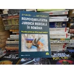 RESPONSABILITATEA JURIDICA MEDICALA IN ROMANIA , ALMOS BELA TRIF
