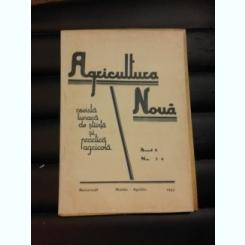 REVISTA AGRICULTURA NOUA NR. 3-4/1943