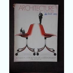 REVISTA ARCHITECTURE FRANCAISE NR.392/1975  (TEXT IN LIMBA FRANCEZA)