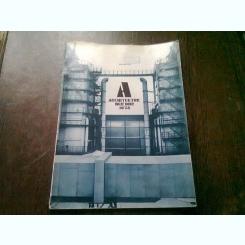 REVISTA ARCHITEKTUR DER DDR NR.10/86 (REVISTA DE ARHITECTURA, TEXT IN LIMBA GERMANA)