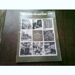REVISTA ARCHITEKTUR DER DDR NR.11/86 (REVISTA DE ARHITECTURA, TEXT IN LIMBA GERMANA)