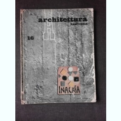 REVISTA ARHITETTURA NR.16/1958  (TEXT IN LIMBA ITALIANA)