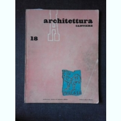REVISTA ARHITETTURA NR.18/1958 (TEXT IN LIMBA ITALIANA)