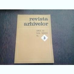 REVISTA ARHIVELOR NR.3/1974