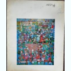 REVISTA ARTA PLASTICA  NR 2 - 1972