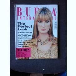 REVISTA BURDA INTERNATIONAL, IARNA 1995/1996, TEXT IN LIMBA ENGLEZA