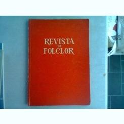 REVISTA DE ETNOGRAFIE SI FOLCLOR NR.1-2/1961