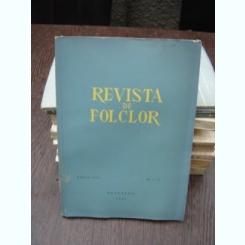REVISTA DE ETNOGRAFIE SI FOLCLOR NR.1-2/1962
