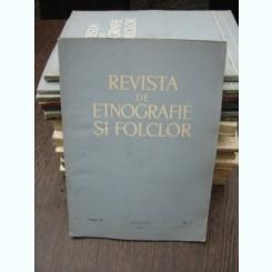 REVISTA DE ETNOGRAFIE SI FOLCLOR NR.2/1965