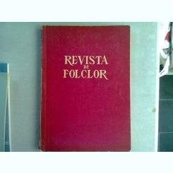 REVISTA DE ETNOGRAFIE SI FOLCLOR NR.3-4/1961