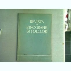 REVISTA DE ETNOGRAFIE SI FOLCLOR NR.5/1968