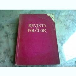 REVISTA DE FOLCLOR NR.3-4/1961